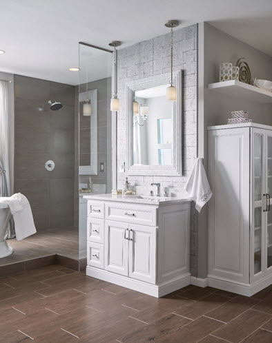 Philadelphia bathroom cabinetry